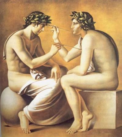 l'arte, opera teogonica